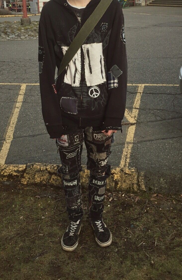 Winter 2017 - I looked pretty dumb in my old hoodie