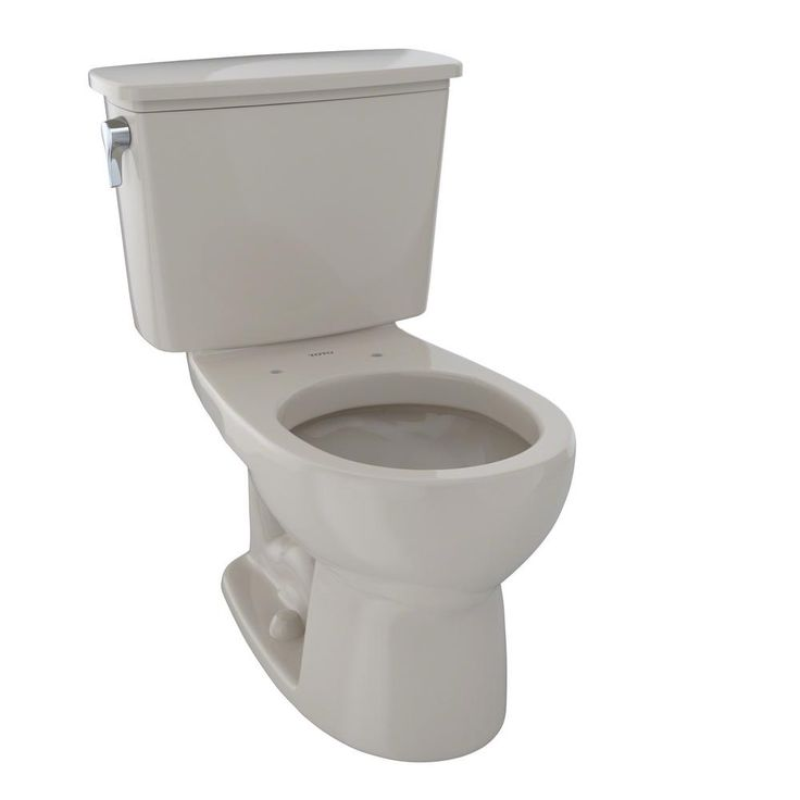 toto eco drake 2piece 128 gpf single flush round toilet in