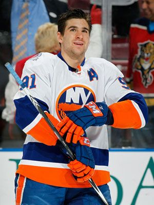 "John Tavares - My giant New York Islanders tervis tumbler is named ""Tavares""."