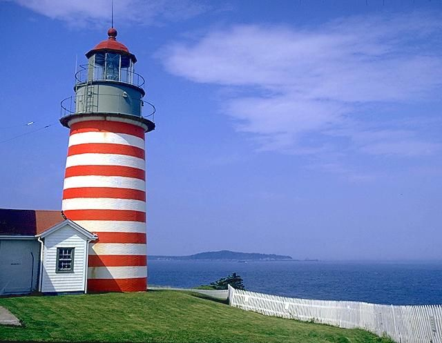Thomas Jefferson signed the order in 1806 authorizing construction of a lighthouse at West Quoddy.