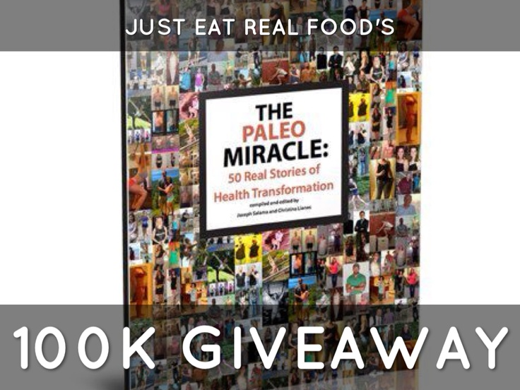 The Paleo Miracle Book is an inspirational collection of transformations. Many of the people featured in this book I've had the chance to 'meet' online, and believe me when I say that their transformation is far more than just physical. It is much deeper than that. These are real people, with really amazing transformations achieved by changing the way and what they eat. This beautiful book is sure motivate you, no matter where you are in your journey: http://www.paleomiracle.com/