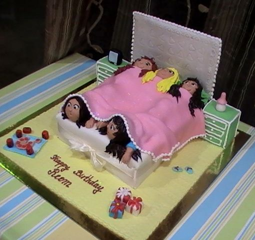 41 best images about Slumber party cakes on Pinterest