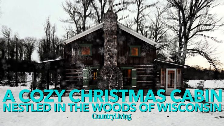 A Cozy Christmas Cabin Nestled in the Woods of Wisconsin: Featuring both rough-hewn architecture and softer seasonal accents (hello, flannel!), this cozy cabin nestled in the Wisconsin woods is equal parts knotty and nice.