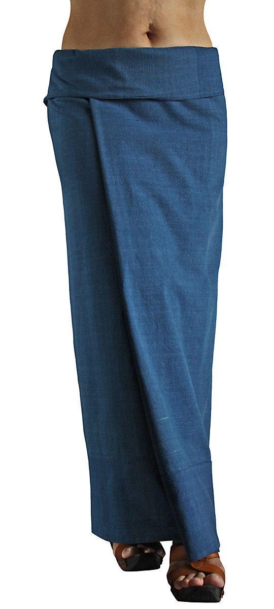 ChomThong main tissé coton Tube jupe portefeuille SFS-012-03