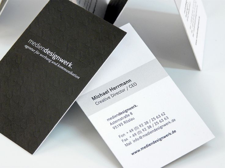 Mediendesignwerk - Business Card Design Inspiration   Card Nerd