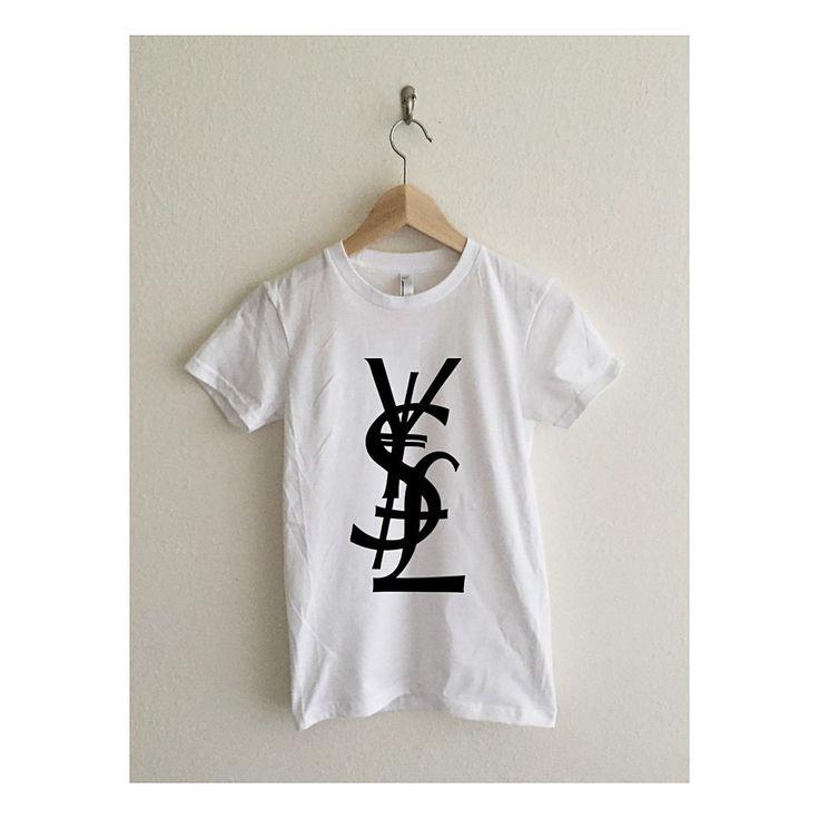 Yen Dollar Pound Money Couture Typography Women's T-Shirt
