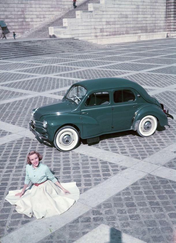 1958 - Renault 4 CV my dad's car...