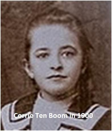 corrie ten boom Corrie ten boom, the youngest of four children, was born on apirl 15, 1892, in  amsterdam, the netherlands her father, casper ten boom, was a watchmaker,.