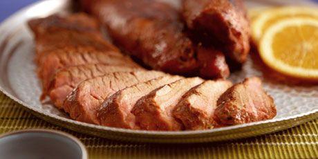 Dry Glazed Pork Tenderloin