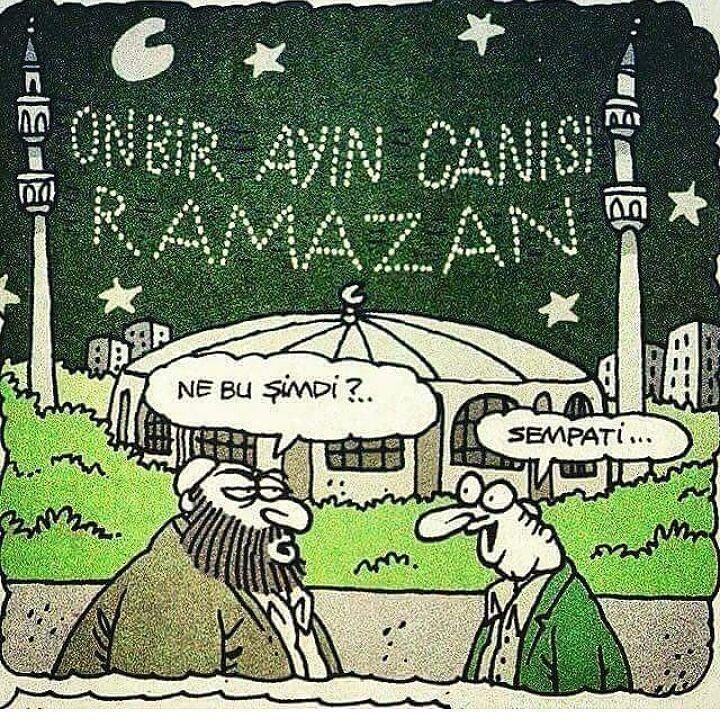 ONBİR AYIN CANISI RAMAZAN - Ne bu şimdi?.. + Sempati... #karikatür #mizah #matrak #komik #espri #şaka #gırgır #komiksözler #ramadan #ramazan #oruç