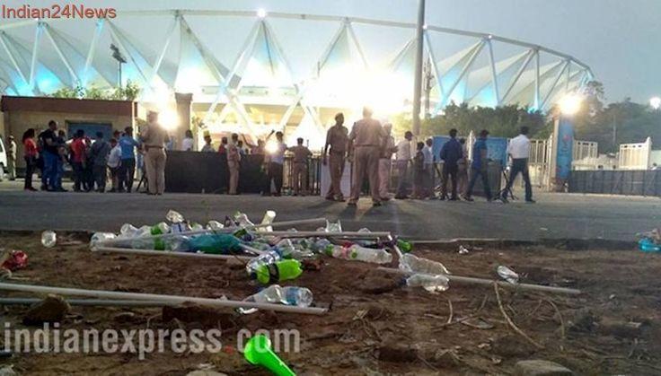 FIFA U17 World Cup: Not so 'Swachh' at Delhi's Jawaharlal Nehru Stad...