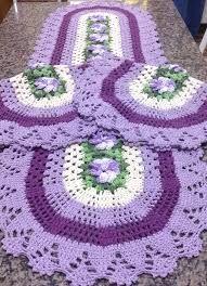 Resultado de imagem para tapetes croche