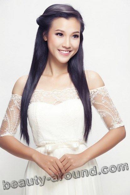 Beautiful Vietnamese Women, Vu Ngoc Hoang Oanh  Vietnamese-Models, Actresses, Singers  Asian -5711