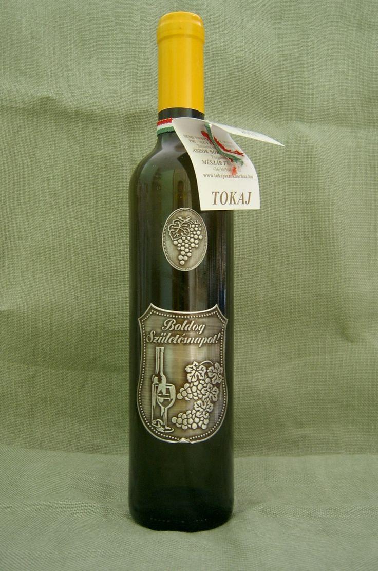 Dísz üveg, Ászok Borház Tokaji Furmint