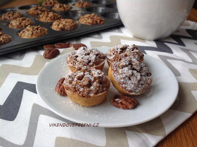 Košíčky s pekanovými ořechy