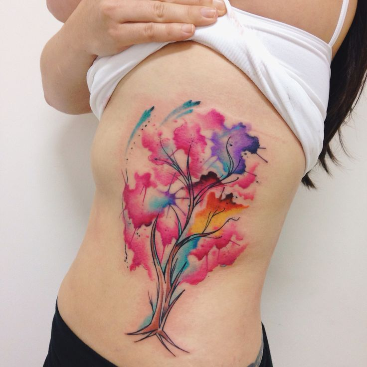 Cool Watercolor Tattoos 2017: 64 Best Images About Tattoo On Pinterest