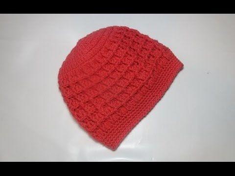 Crochet Uncinetto Cappellino Giallo Tutorial - YouTube