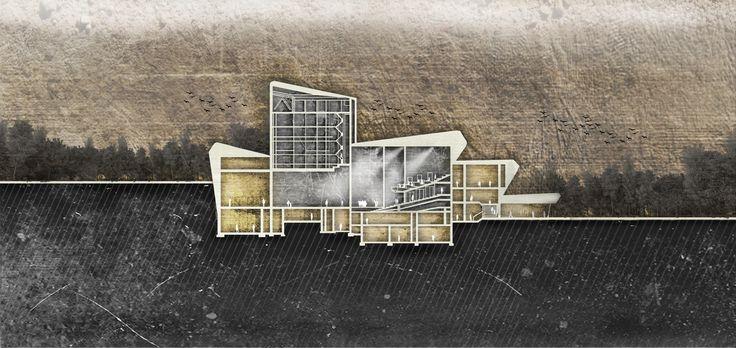 gazhaneModern Auditorium Section Kadikoy, Istanbul Architect: Attila Beksac YTU Department of Architecture