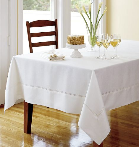 Fine Table Linens For Summer   Linen Tablecloth Selections By Designer  Lillian Pikus