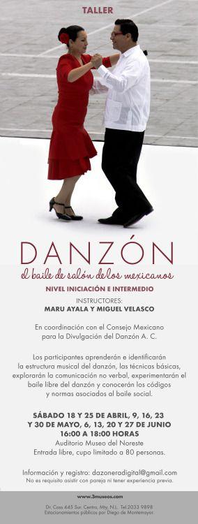 Información: Abril 18 / Taller Danzón. El baile... | 3 museos