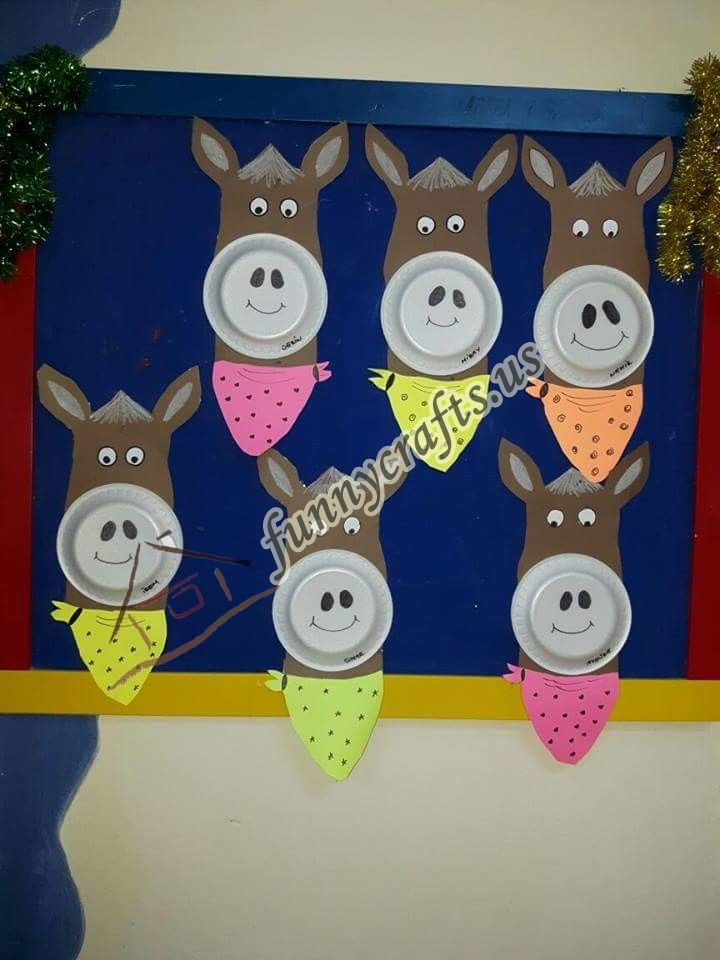 Horse Craft Ideas For Kids Part - 24: Paper Plate And Plastic Plate Horse Craft Ideas Clothespin Horse Crafts  Paper And Paper Bag Horse Craft Ideas Handprint And Footprint Horse Art  Activities ...