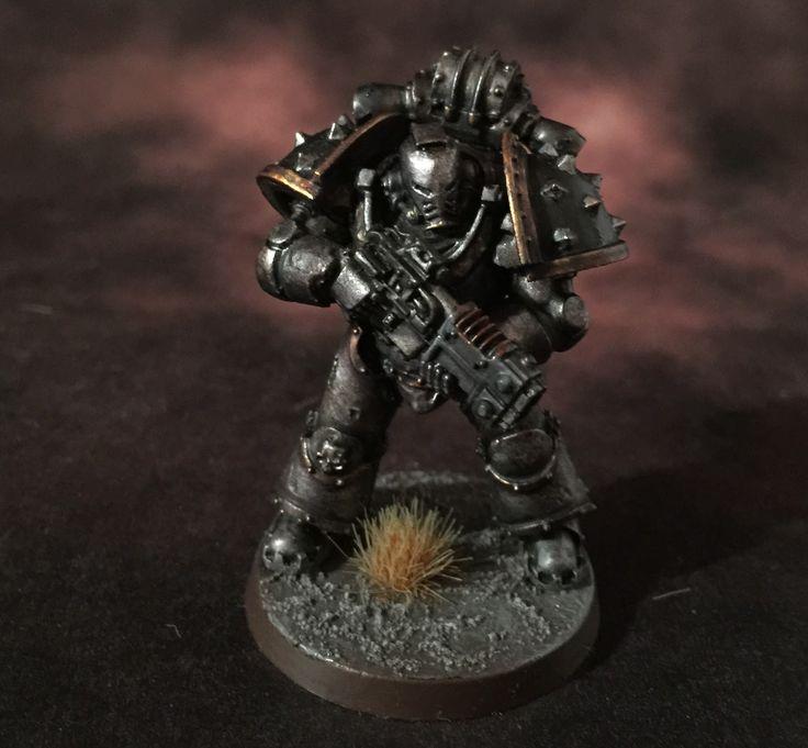 Death of a Rubricist: + inload; Iron Warrior Basilikoi +