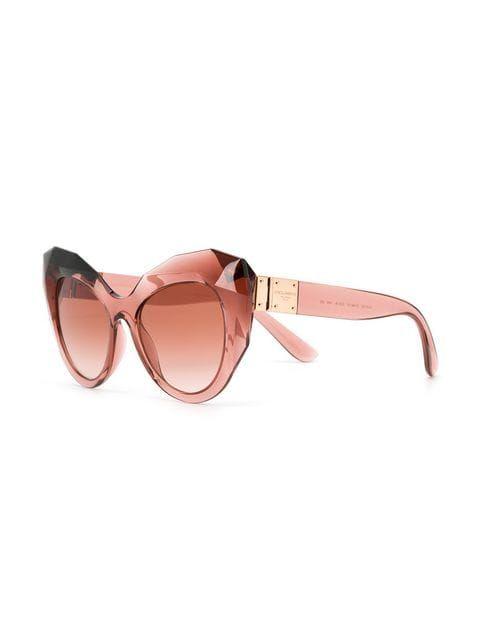 bab912e1fbc4 Dolce   Gabbana Eyewear Oversized Cat-eye Sunglasses - Farfetch