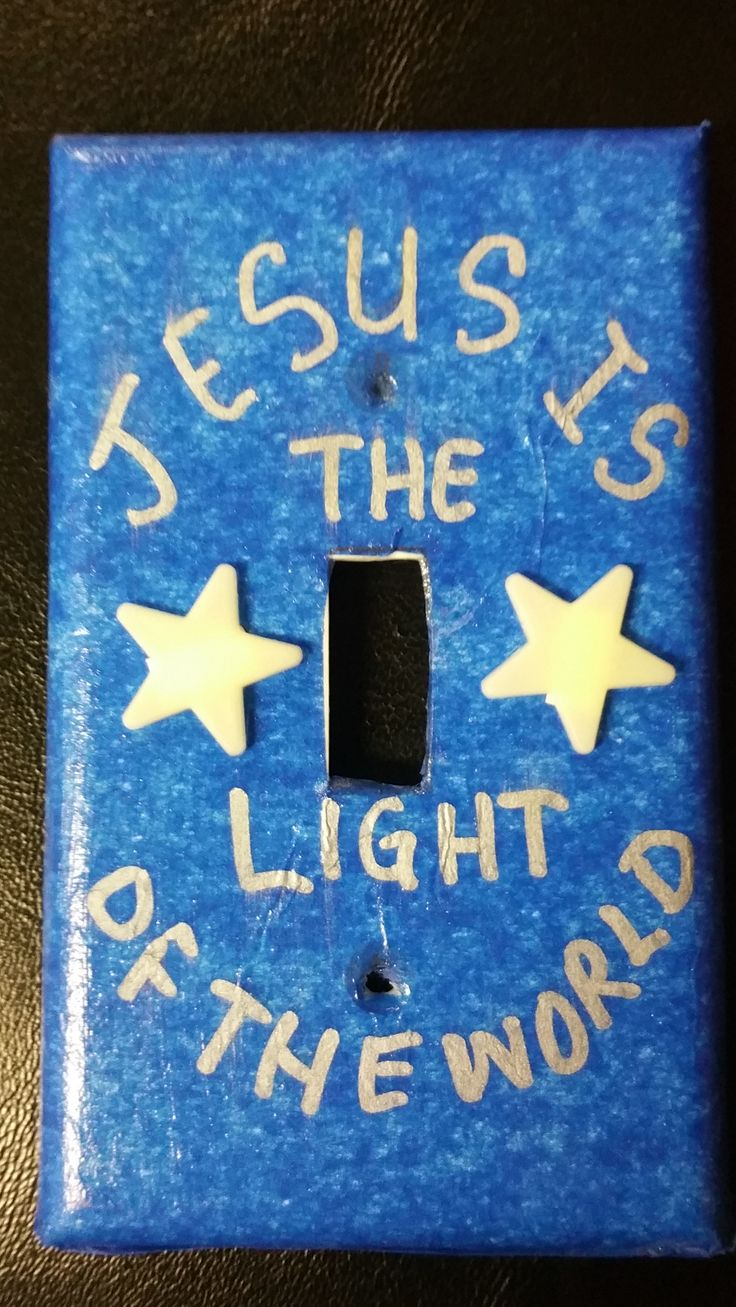 Switch Plate Mod Podge/Tissue Paper Craft @ Lifeway's VBS Preview Event in Fort Worth, TX. VBS 2017 Galactic Starveyors Photo Only-no link