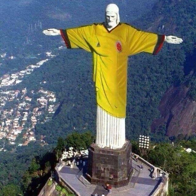 Rio de Janeiro nos espera !!!!!! Colombia en el Mundial 2014. @FrankDavid0510