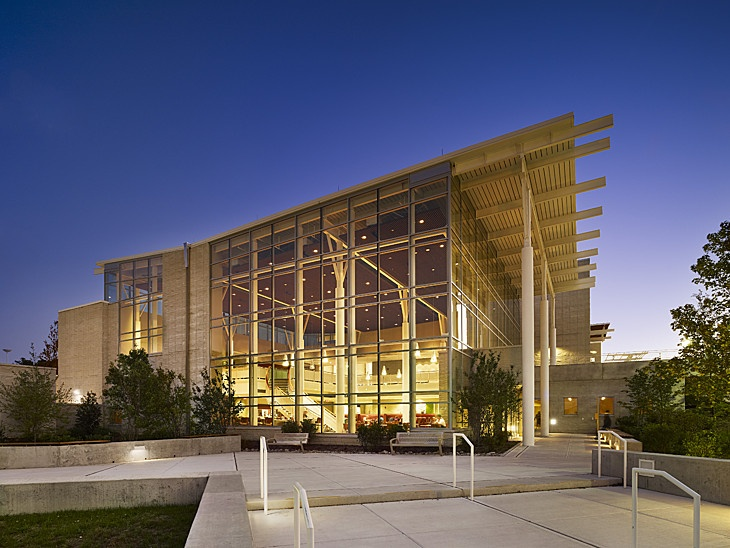 Stockton College Campus Center in Galloway, New Jersey by KSS Architects