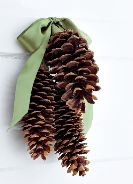 instead of a wreath. Love the idea, but I've never had my own Christmas wreath. Maybe this inside somewhere?