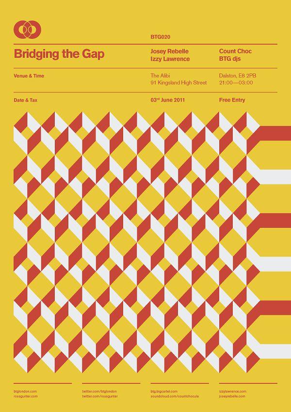 Bridging The Gap – Poster Designs – Ross Gunter
