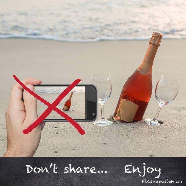 Dont share, enjoy #wine