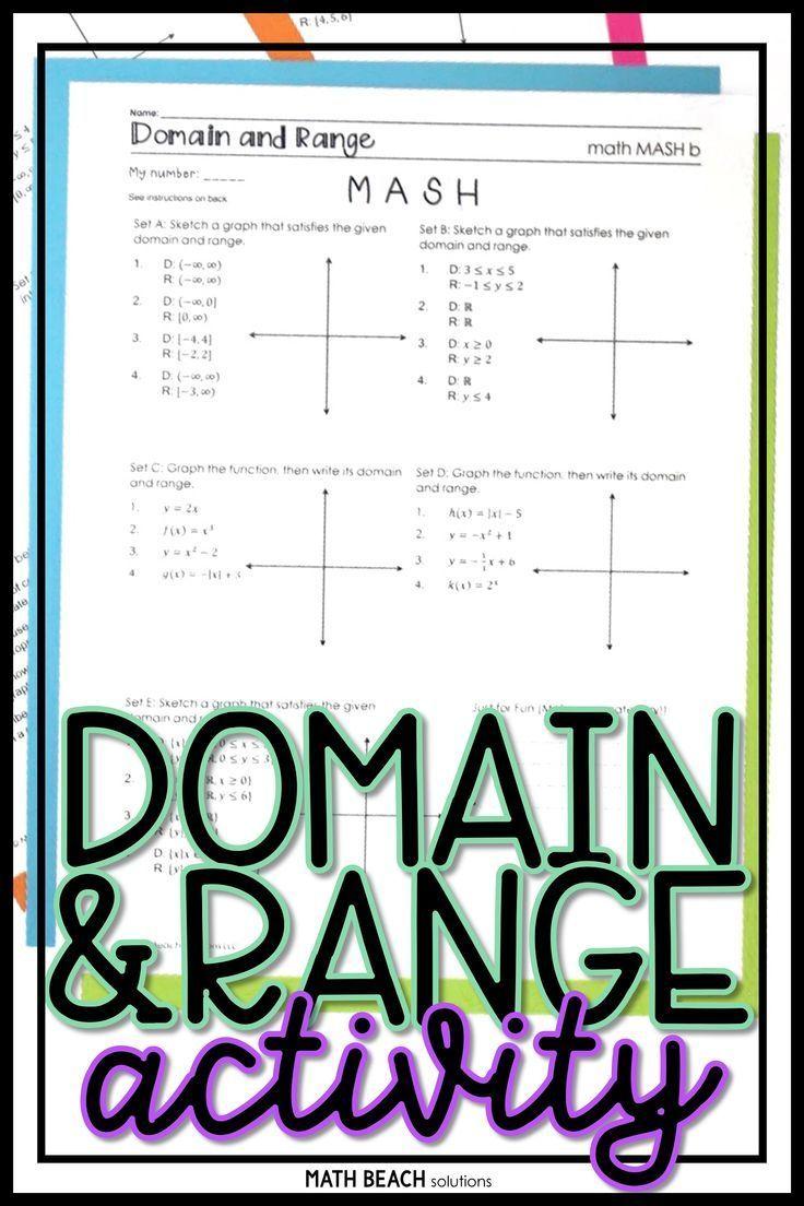 Domain And Range Explained - DONIMAIN