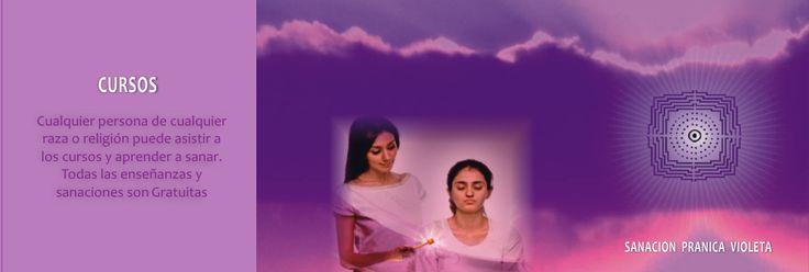 Cursos de Sanacion Pranica Violeta