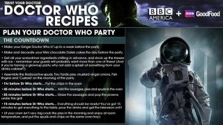 """Yes. Yes I did just pin a """"Doctor Who Party Planning Guide."""" Yes, I do plan on using it. :)"""
