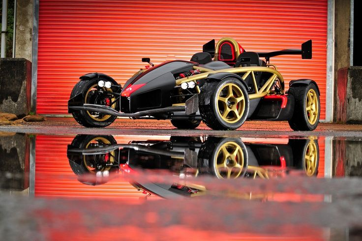 Arial Atom V8, one mean ride.