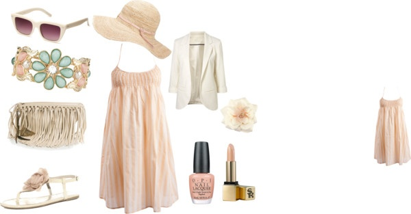 """Pale summer"" by beadlesbabe99 on Polyvore"