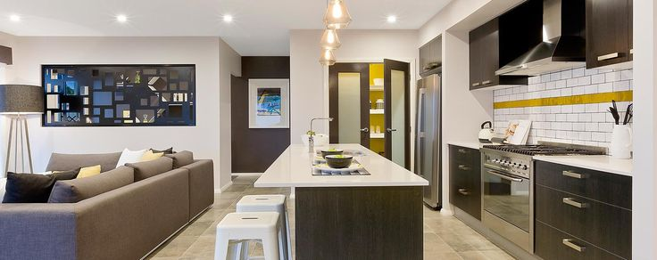 Polytec melamine black wenge matt modern kitchen design for Wenge kitchen designs