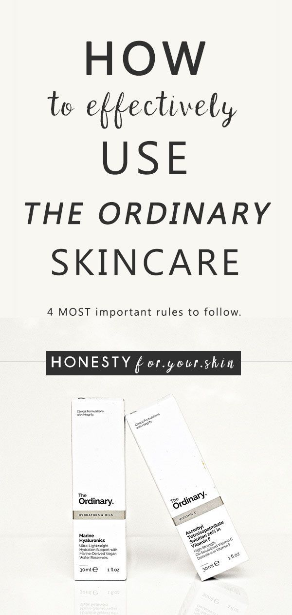 How to Mix The Ordinary Skincare