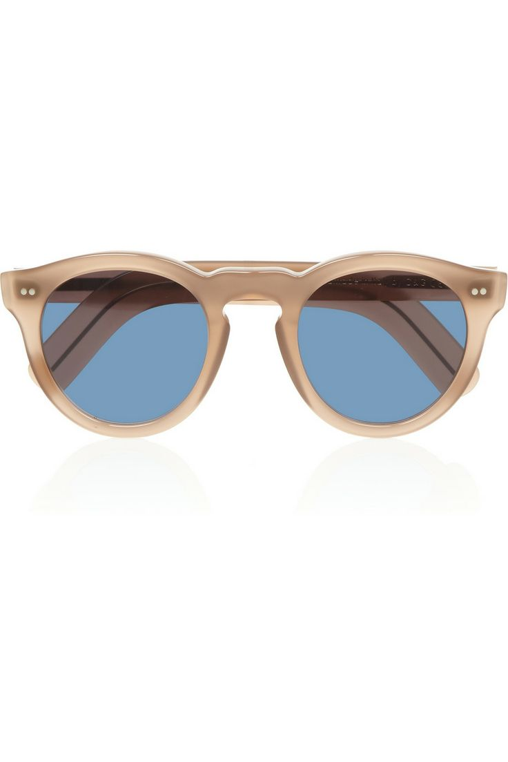 Cutler and Gross|Round-frame acetate and metal sunglasses|NET-A-PORTER.COM