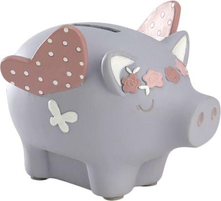 Une petite tirelire pour les enfants, en version garçon ou fille.  13,90€ chez Jardindéco.com !