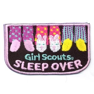 GS Sleepover patch - free shipping
