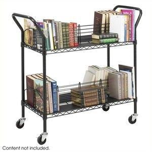 Safco Wire Book Cart