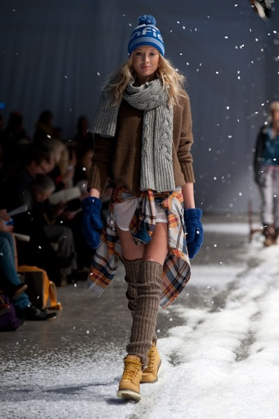 More Scandinavian knitted looks
