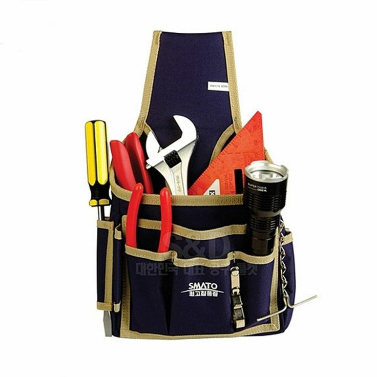 New electrician tool bag utility belt pouch organizers work pocket professional