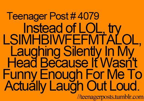 Haha! I need to memorize this!