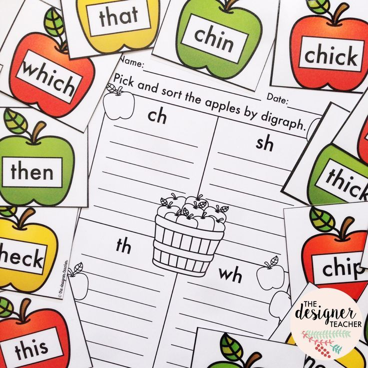 295 best blends & digraphs images on Pinterest | Literacy centers ...