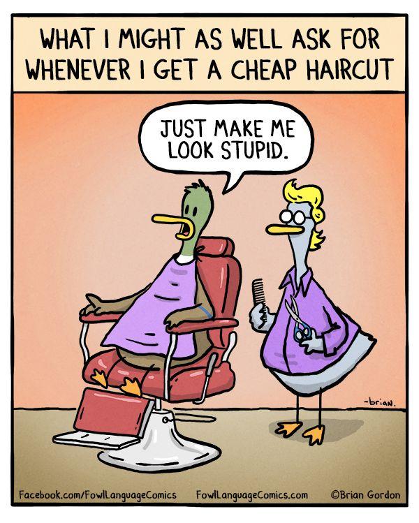 Cheap Haircut