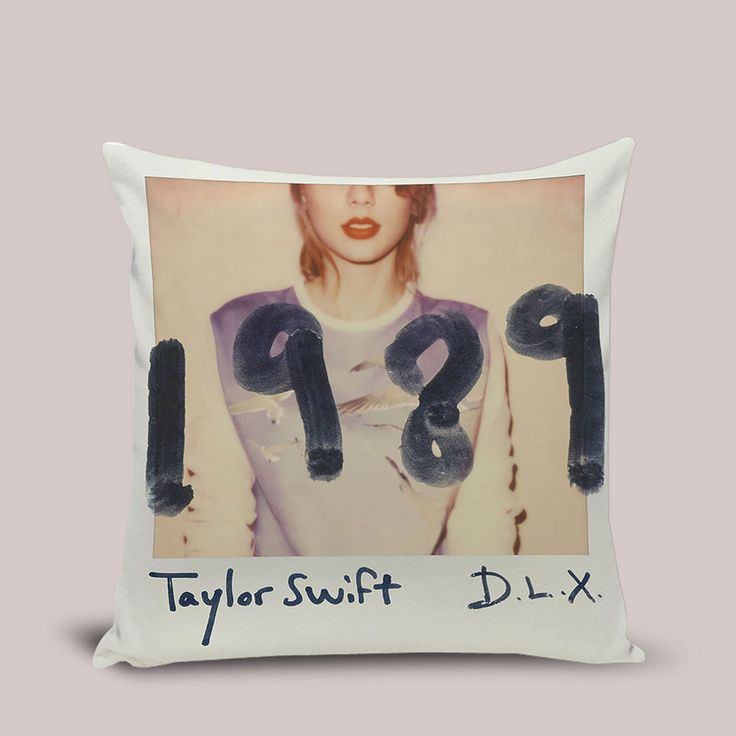 Taylor Swift 1989 Pillow Cover Cushion Throw Pillowcase 16x16 18x18 20 inches #Handmade #TwinSides